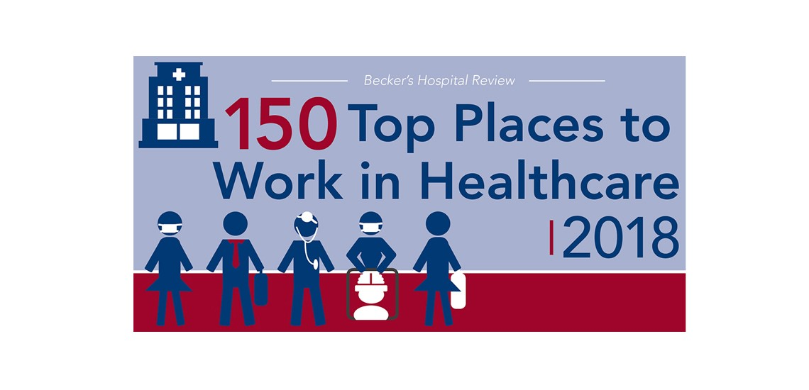 Becker's 150 great places to work