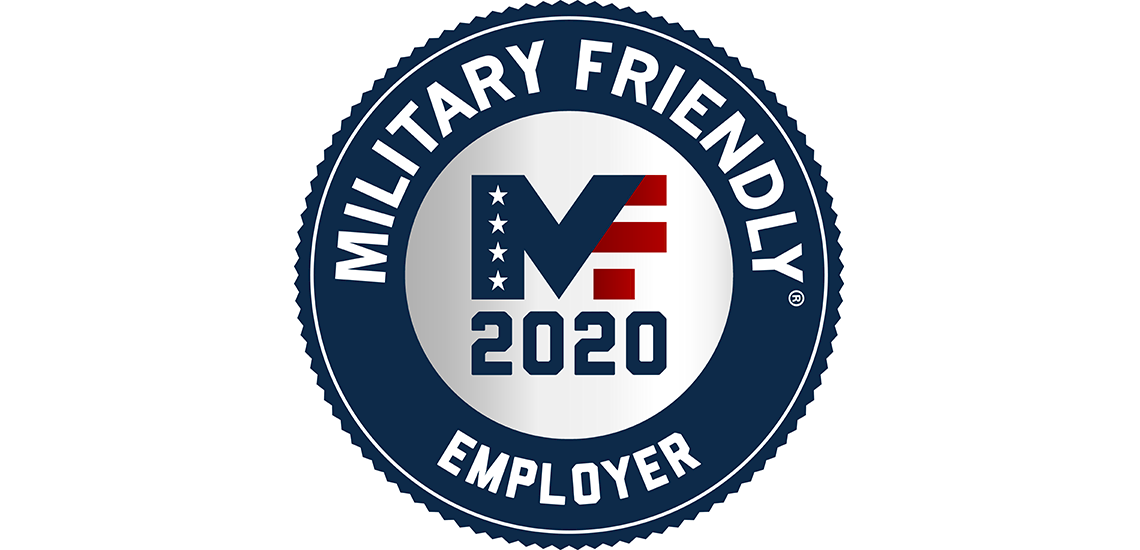 Methodist Health System has earned the 2020 Military Friendly Employer designation.