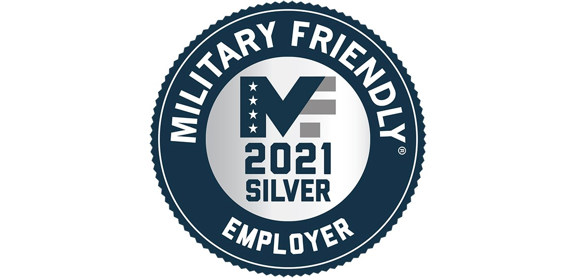 Methodist Health System has earned the 2021 Military Friendly Employer Silver Designation.